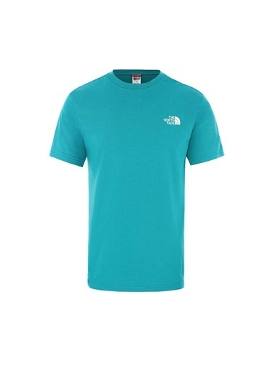 The North Face Simple Dome Erkek T-Shirt Yeşil Yeşil